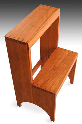 Following The Original Shaker Dimensions, This Step Stool Is Rather Tall  And Shallow By Todayu0027s Standards. Can Be Re Sized To Be Safer, Though