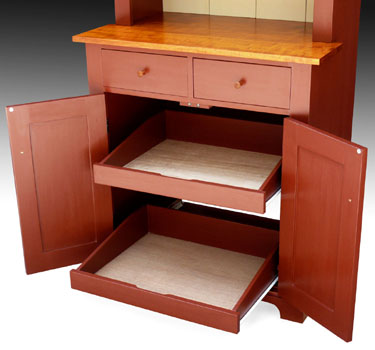 Shaker Furniture to Fit kitchen hutch