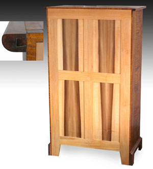 shaker furniture to fit maple dresser